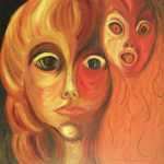 Horror Living Painting Suzanne Marie