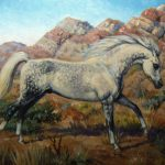 Horse Art Equine Sale New Arabian Oil Painting Kerry