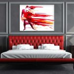 Hot Bedroom Decorating Ideas Wall Art