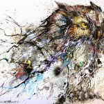 Hua Tunan Night Owl Limited Edition Print Available April