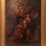 Huge Fine Quality French Old Master Oil Painting Heavenly Angels Saint