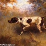 Hunting Dogs Dead Hare Gustave