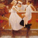 Iconic Photographs Behind Famous Norman Rockwell