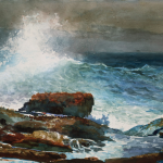 Incoming Tide Scarboro Maine Winslow Homer