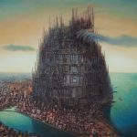Incredibly Detailed Paintings Show Apocalyptic Future