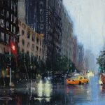 Incredibly Realistic Rainy Day Paintings Karen