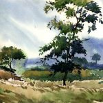 Indian Watercolor Paintings Fine Art