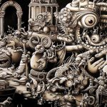 Insanely Detailed Artwork Created Months Modern