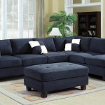 Inspirations Navy Blue Sectional