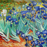 Irises Vincent Van Gogh Oil Painting