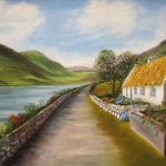 Irish Cottage Painting Irene