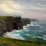 Irish Fine Art Prints Cliffs Moher Learn Oil Paint Dvd Videos Purchase