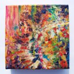 Items Similar Abstract Acrylic Painting Creation