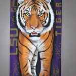 Items Similar Lsu Standing Tiger Painting