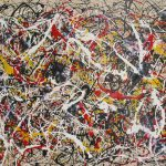 Jackson Pollock Abstract Oil Painting
