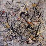 Jackson Pollock Number Painting Framed Paintings