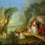 Jean Baptiste Joseph Pater Relaxing Country Painting Framed Paintings