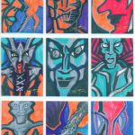 Jeff Hardy Artwork Card Set Tna Xtreme