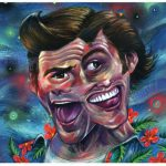 Jim Carrey Art Print Celebrity Artwork