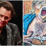 Jim Carrey Presidential Portrait Trump Belongs Smithsonian Eboss