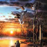 Jim Hansel Wildlife Landscape Painter Tutt Art Pittura Scultura Poesia
