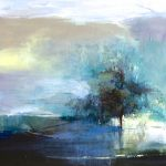 Joan Fullerton Paintings Contemporary Abstract Landscape Painting Resolute
