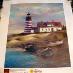 Joe Sambataro Quoddy Head Lighthouse Giclee Canvas Art Print Coa