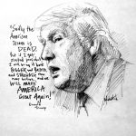 Jon Mcnaughton Twitter Another Trump Sketch Https Mdi