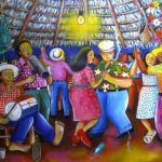 Jos Morillo Merengue Dominican Republic Art Artwork