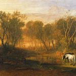 Joseph Mallord William Turner Forest Bere Painting Print