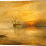 Joseph Mallord William Turner Fort Vimieux Stretched Canvas Print Art