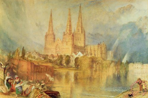 Joseph Mallord William Turner Lichfield Painting Print