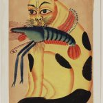 Kalighat Paintings Separate Sheets India Pinterest Cat Indian