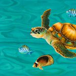 Kauila Sea Turtle Painting Emily