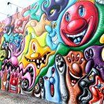 Kenny Scharf Houston Street Mural Now Complete