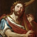 King David Lyre Painting Sebastiano