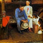 Knowing Your Place Norman Rockwell Main Street