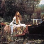 Lady Shalott Poem Painting British Literature Course