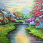 Landscape Art Clip Abstract Paintings