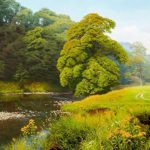 Landscape Oil Paintings British Artist Michael James