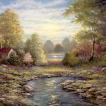 Landscapes Tile Mural Creative