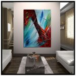 Large Abstract Painting Wall Art