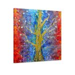 Large Abstract Tree Canvas Art Unframed Prints Wall Artposter