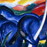 Large Blue Horses Franz Marc Rabia