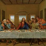 Last Supper Rendition Painting Alan