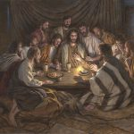 Last Supper Signed Ist Litho Mcnaughton Fine