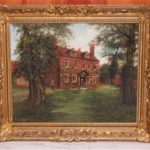 Late Schillay Rehs British Country Oil Painting