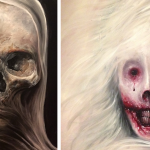 Latest Horror Paintings Created Oil Bored
