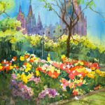 Lds Salt Lake Temple Painting