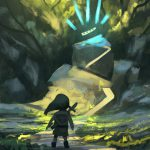 Legend Zelda Inspired Concept Art Illustrations